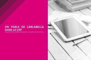 On parle de Carlabella dans le CXP