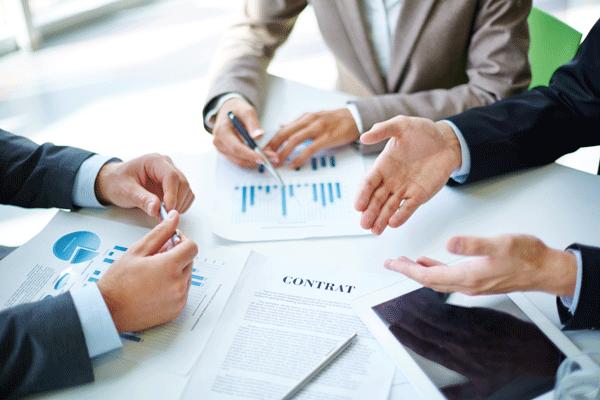 signature de contrat fournisseur entreprise